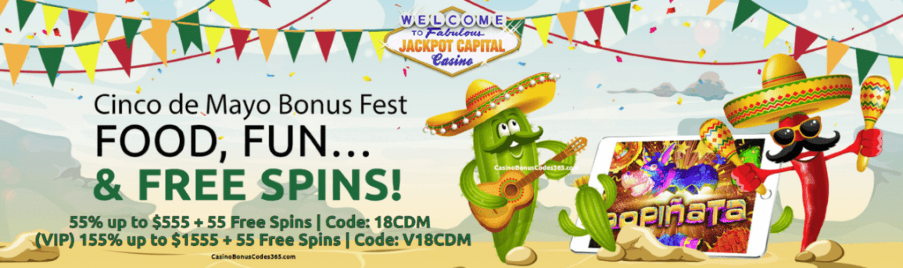 Jackpot Capital Cinco de Mayo