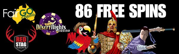 Red Stag Casino Fair Go Casino Desert Nights Casino 86 FREE Spins