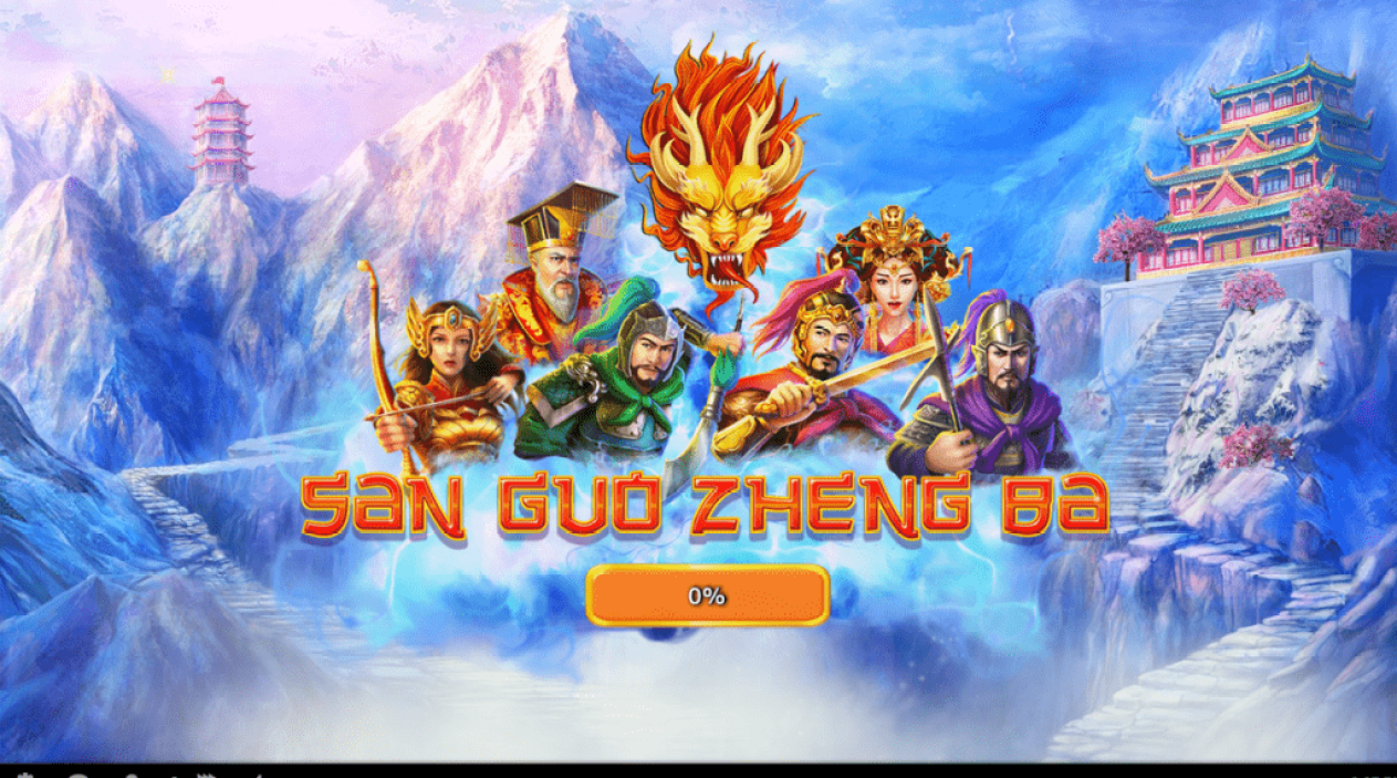 Planet 7 Oz Casino RTG San Guo Zheng Ba