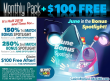 SlotoCash Casino Monthly Pack plus $100 FREE Chip June in the Bonus Spotlight