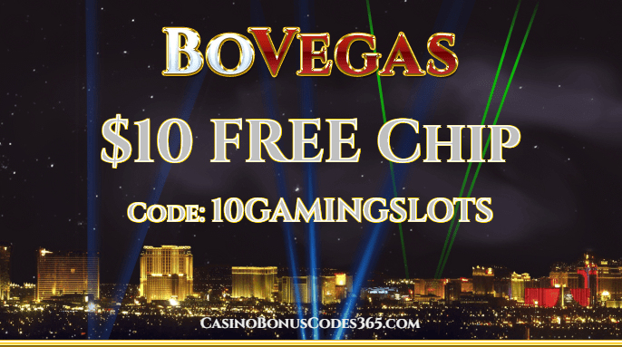 BoVegas Casino $10 FREE Chip