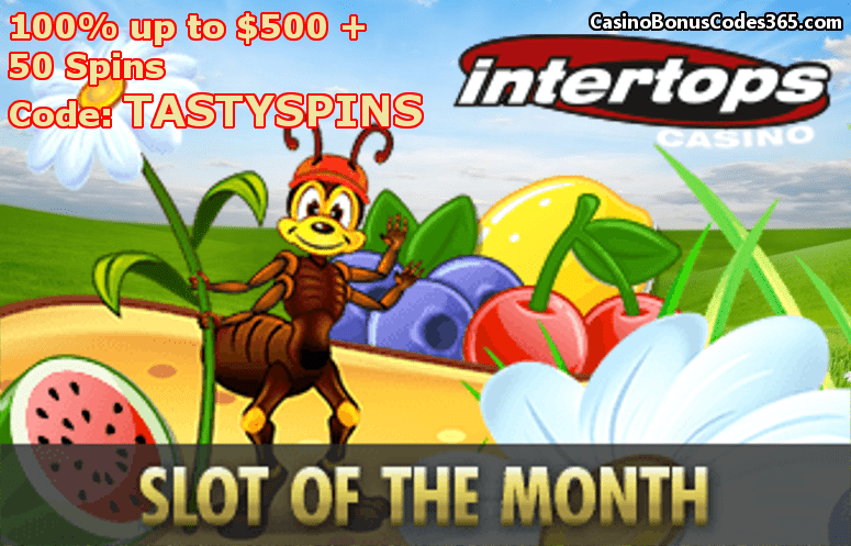 intertops casino red bonus code
