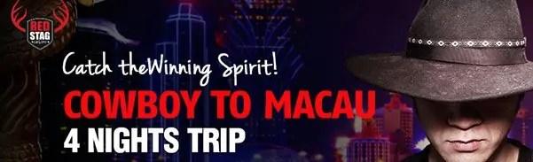Red Stag Casino Cowboy to Macau Raffle