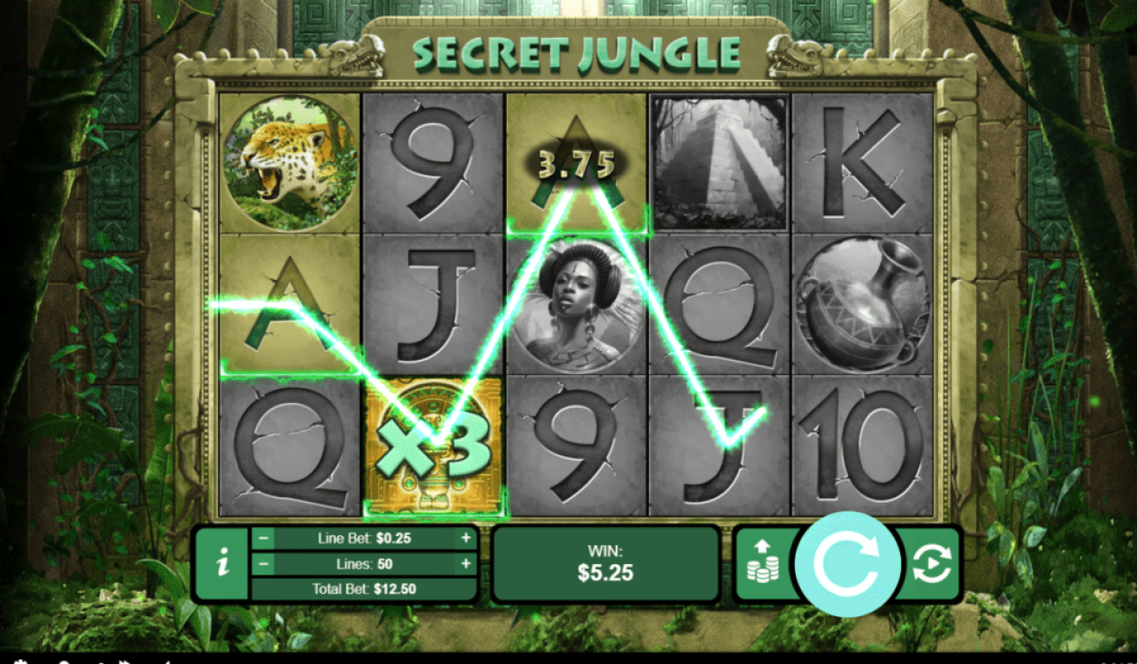 Intertops Casino Red RTG Secret Jungle