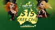 Two-Up Casino $15 FREE Chip