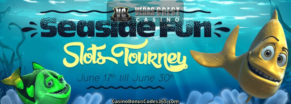 Vegas Crest Casino Seaside Fun Slots Tourney
