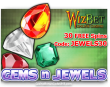 WizBet Online Casino Saucify Gems n Jewels 30 No Deposit FREE Spins June Special Promo