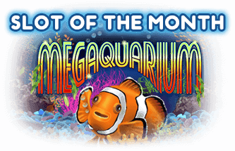 Intertops Casino Red July Slot of the Month RTG Megaquarium