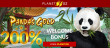 Planet 7 OZ Casino 200% Slots and Keno Bonus New RTG Game Pandas Gold