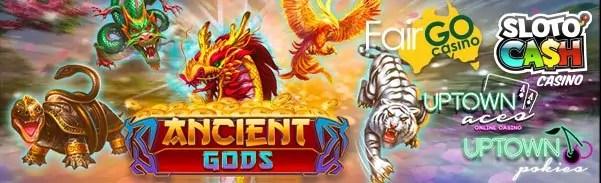 SlotoCash Casino Uptown Aces Uptown Pokies Fair Go Casino RTG Ancient Gods