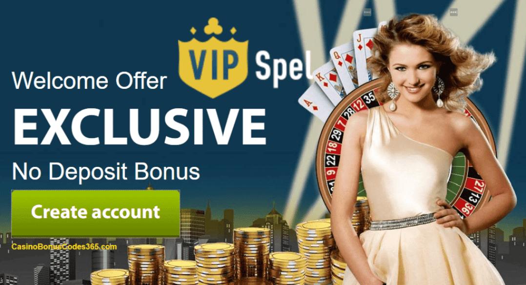 VIP Spel Casino Daily Exclusive Welcome Bonus List