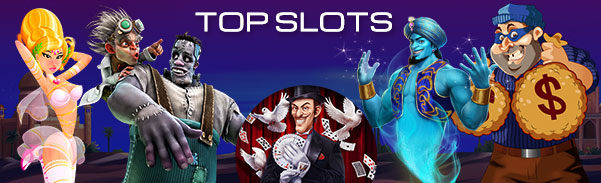 Deckmedia Top Slots by Spins July 2018