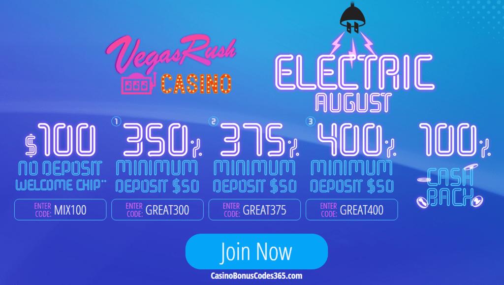 Circus Casino Bonus Code