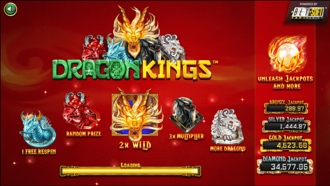 Vegas Crest Casino Betsoft Dragon Kings