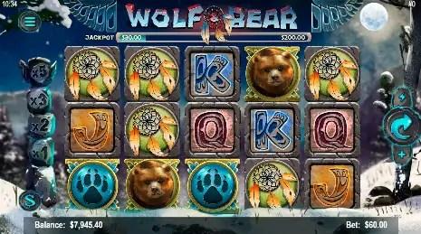 CyberBingo 20 FREE Mobilots Wolf and Bear Spins plus $25 FREE Bingo Bonus