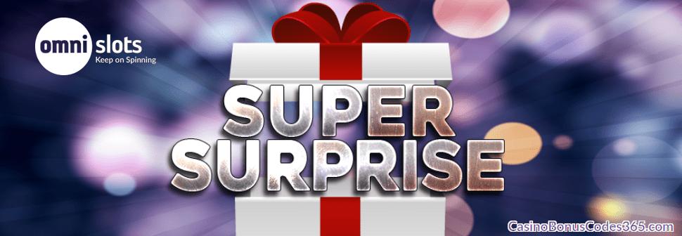 Omnislots Super Surprise Bonus