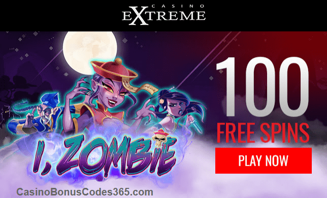 Casino Extreme New RTG Game i Zombie 100 FREE Spins