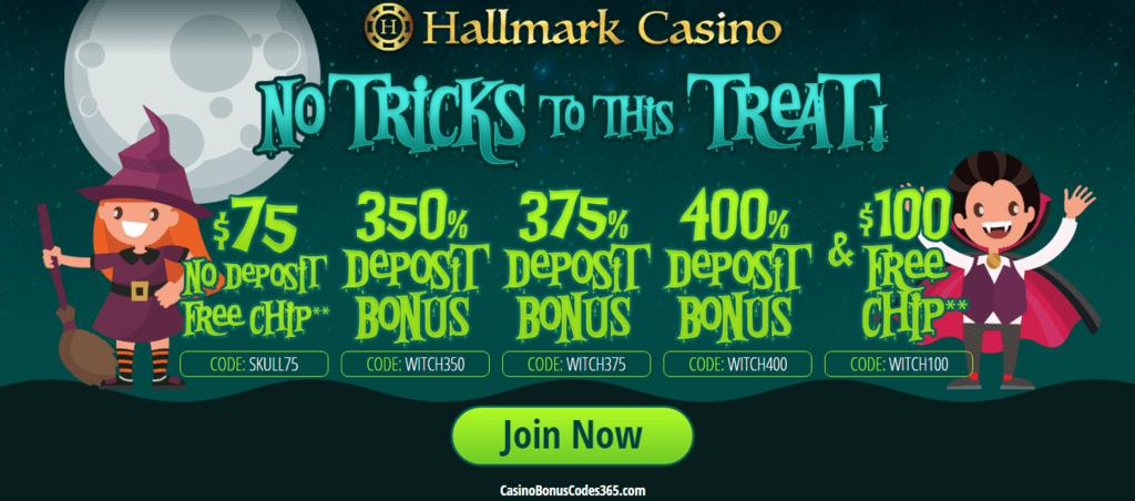 Hallmark Casino October No Tricks To This Treat Promotion Casino