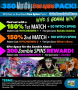 SlotoCash Casino Witches vs Zombies 350 Monthly FREE Spins Pack
