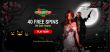 Vegas2Web Casino 40 FREE Spins Exclusive Deal Rival Gaming Dark Hearts