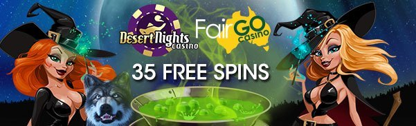 Desert Nights Casino Fair Go Casino 35 FREE Spins Mystic Wolf Bubble Bubble 2 Cash Bandits