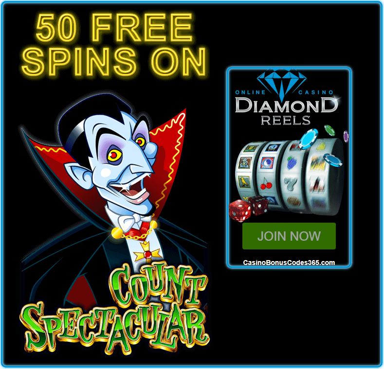 Diamond Reels Casino 50 FREE Count Spectacular RTG