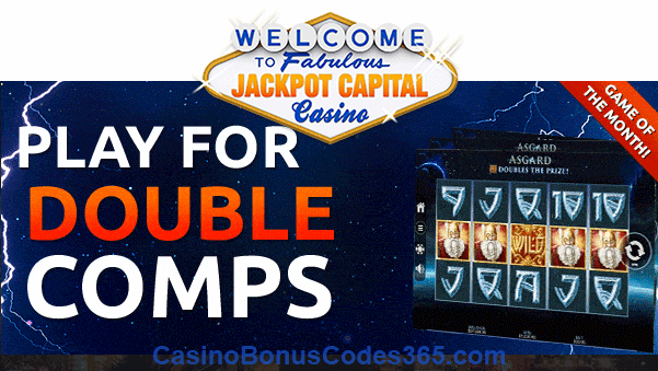 Jackpot Capital November Game of the Month RTG Asgard