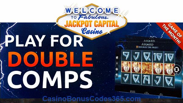 Jackpot Capital November Game of the Month RTG Asgard