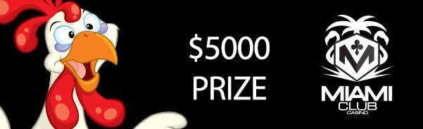 Miami Club Casino $5000 November Month Long Tournament