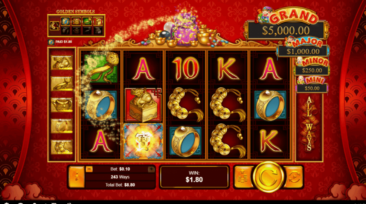Fair Go Casino RTG Plentiful Treasure