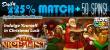 SlotoCash Casino The Nice List December 225% Daily Match plus 50 FREE Spins