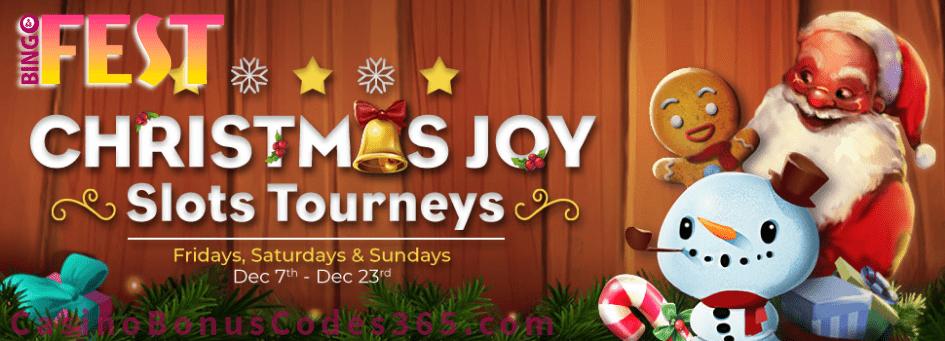 BingoFest Christmas Joy Slots Tourneys