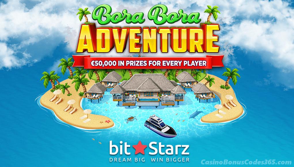 BitStarz Bitcoin Casino Bora Bora Adventure
