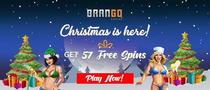 Casino Brango 57 FREE RTG Naughty or Nice III Spins Xmas Offer