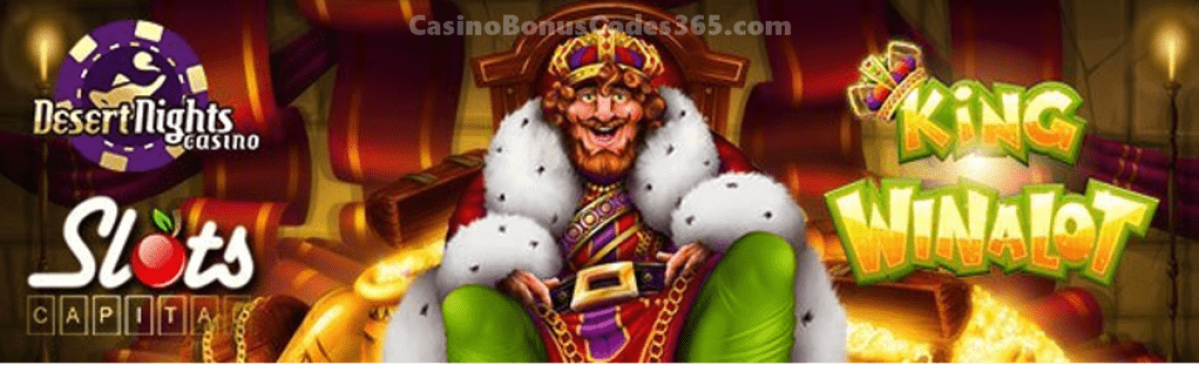 Slots Capital Online Casino Desert Nights Casino King Winalot Rival Gaming