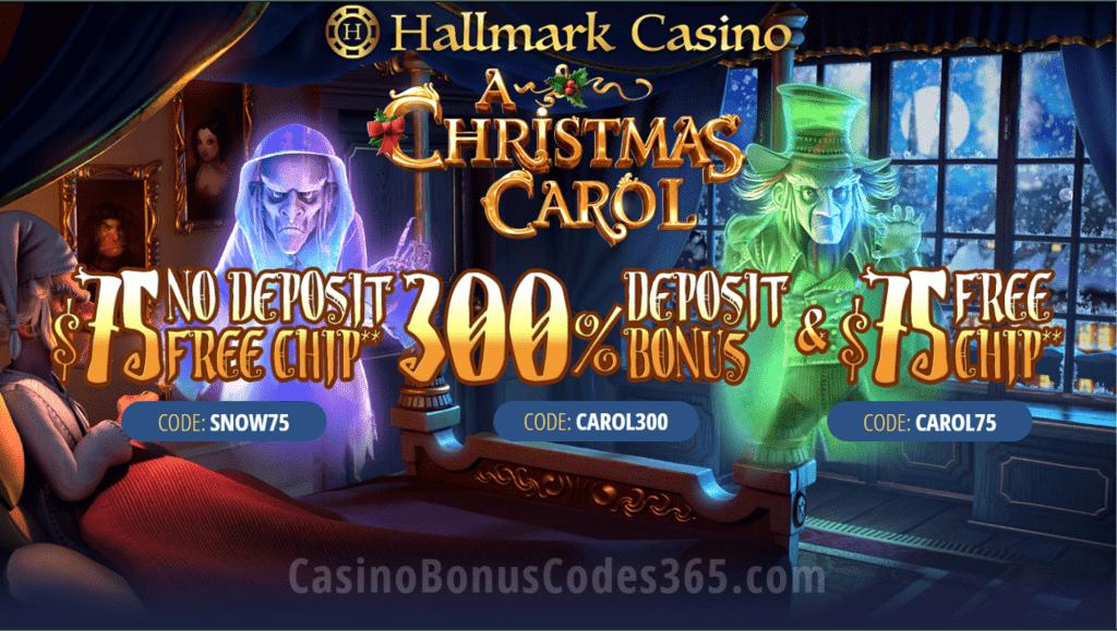 Hallmark Casino Holiday Season Promo Casino Bonus Codes 365