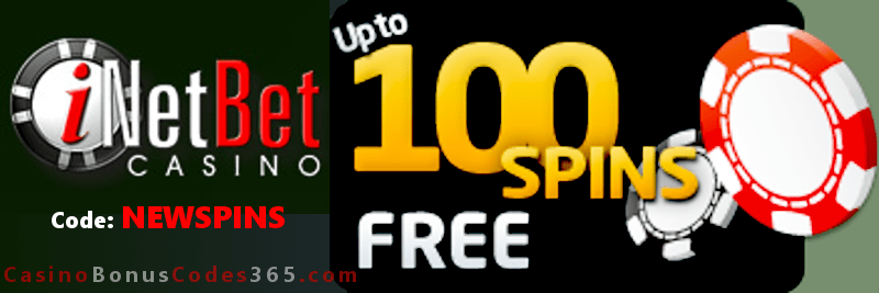 iNetBet Casino 100 Welcome FREE Spins