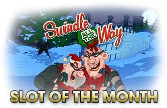 Intertops Casino Red December Slot of The Month RTG Swindle All The Way 100% up to $500 plus 50 FREE Spins