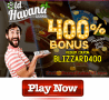 Old Havana Casino 400% Blizzard Match Bonus