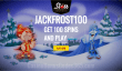 Slots Capital Online Casino Rival Gaming Jack Frost New Game 100 FREE Spins Offer