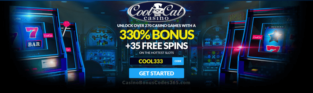 Coolcat Casino 330 No Max Bonus Plus 35 Free Spins Welcome Offer