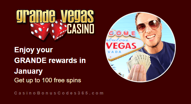Grande Vegas Casino January 2019 Promo RTG Sweet 16 Asgard