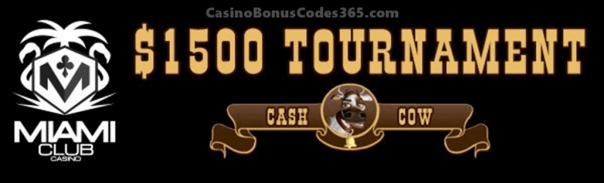 Miami Club Casino $1500 Cow Tipping Tournament