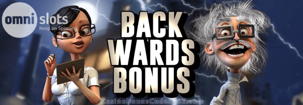 Omni Slots Backwards Bonus