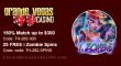 Grande Vegas Casino 150% up to $300 Bonus plus 25 FREE Spins on RTG i Zombie Special Offer