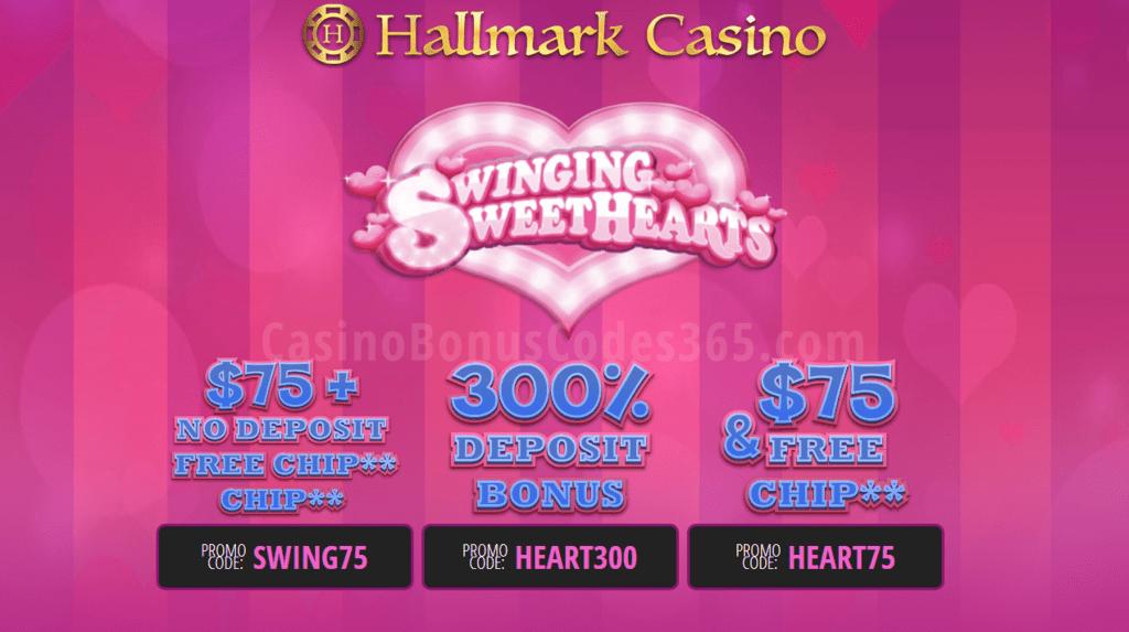 Hallmark Casino Swinging Sweet Hearts Special Promo | Casino