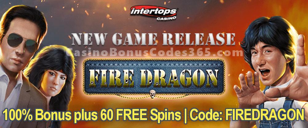 Intertops Casino Red RTG Fire Dragon