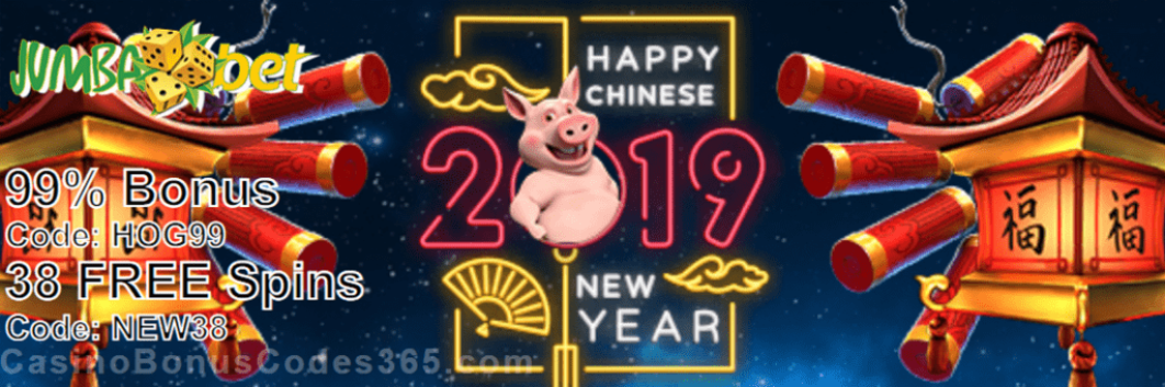 Jumba Bet Great Fortune in the Year of The Pig Promo