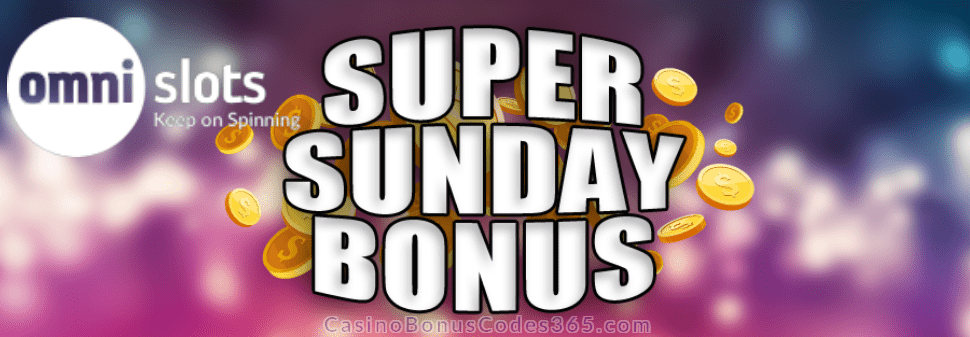 Omni Slots Super Sunday Bonus