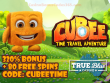 True Blue Casino New RTG Game Cubee Special Offer